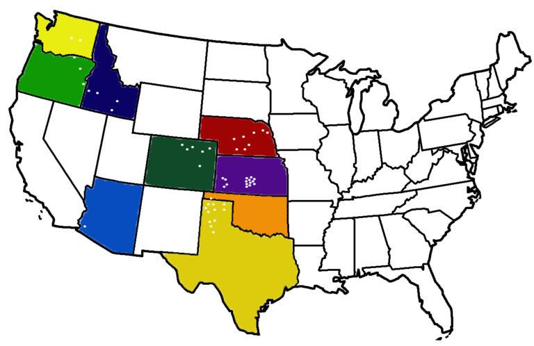 Beef Alliance feedyard locations